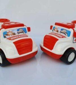 ماشین آمبولانس اندیشه پخش و فروش عمده اسباب بازی پسرانه مناسب حراجی 10000 فروش