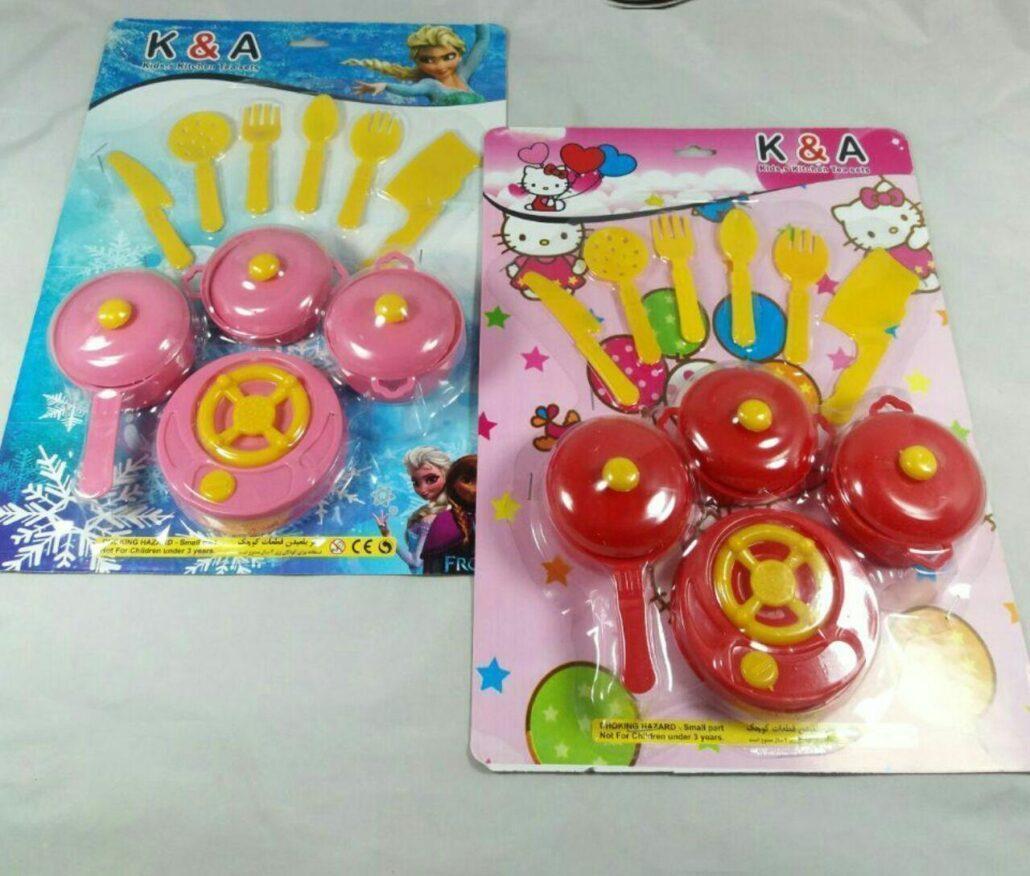 سرویس قابلمه و اجاق گاز پخش و فروش عمده اسباب بازی دخترانه کارخانه کار اندیشه مناسب حراجی 10000 هزار فروشی