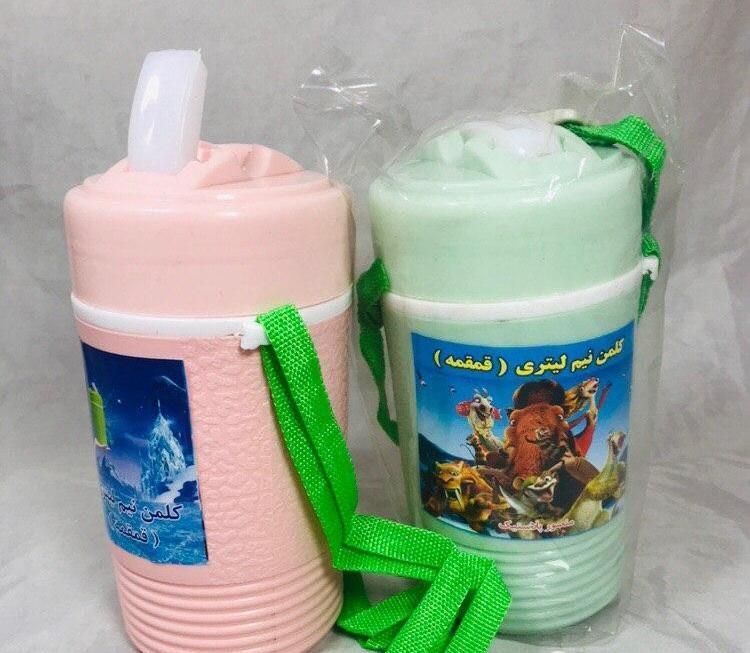 قمقمه نیم لیتری منصور پلاستیک --- کلمن نیم لیتری منصور -- پخش قمقمه --- تولید قمقمه نیم لیتری