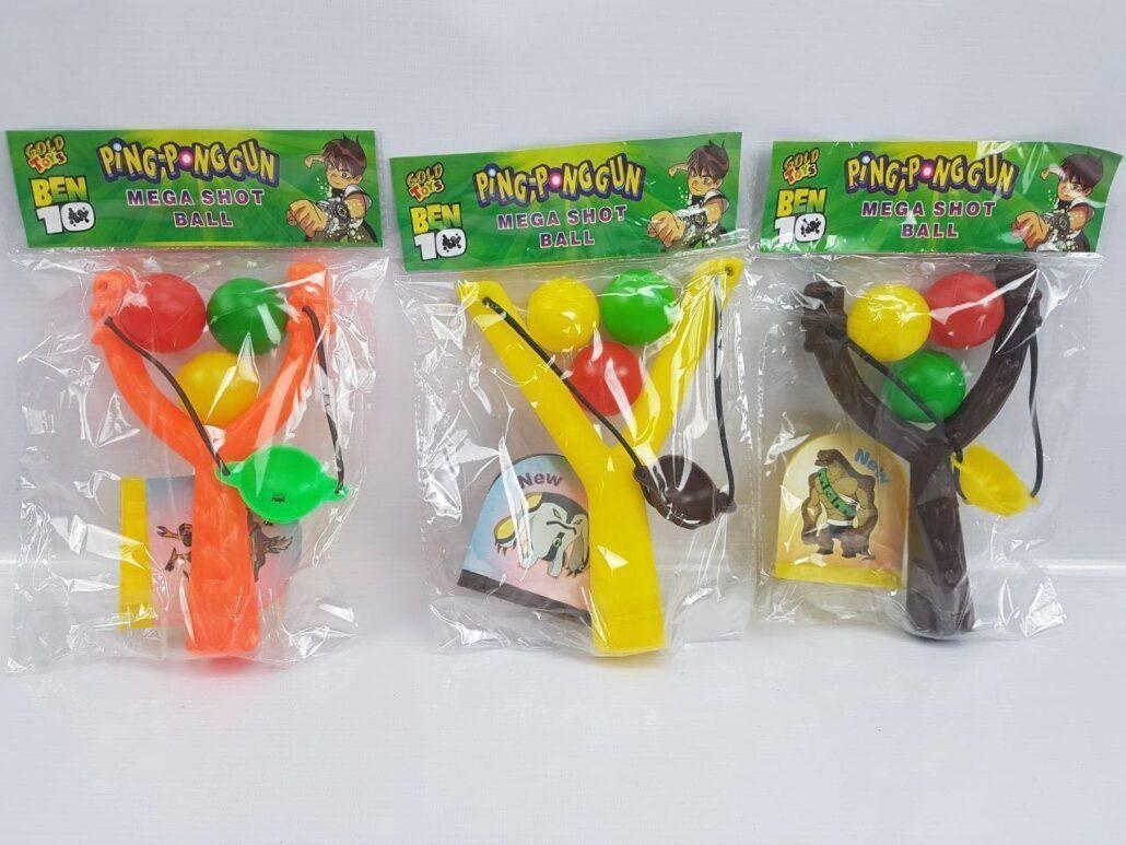 شوتر تیرکمان پلاستیکی دستی -- پخش شوتر -- عمده اسباب بازی --- mega shoot ball --- اسباب بازی فروشی