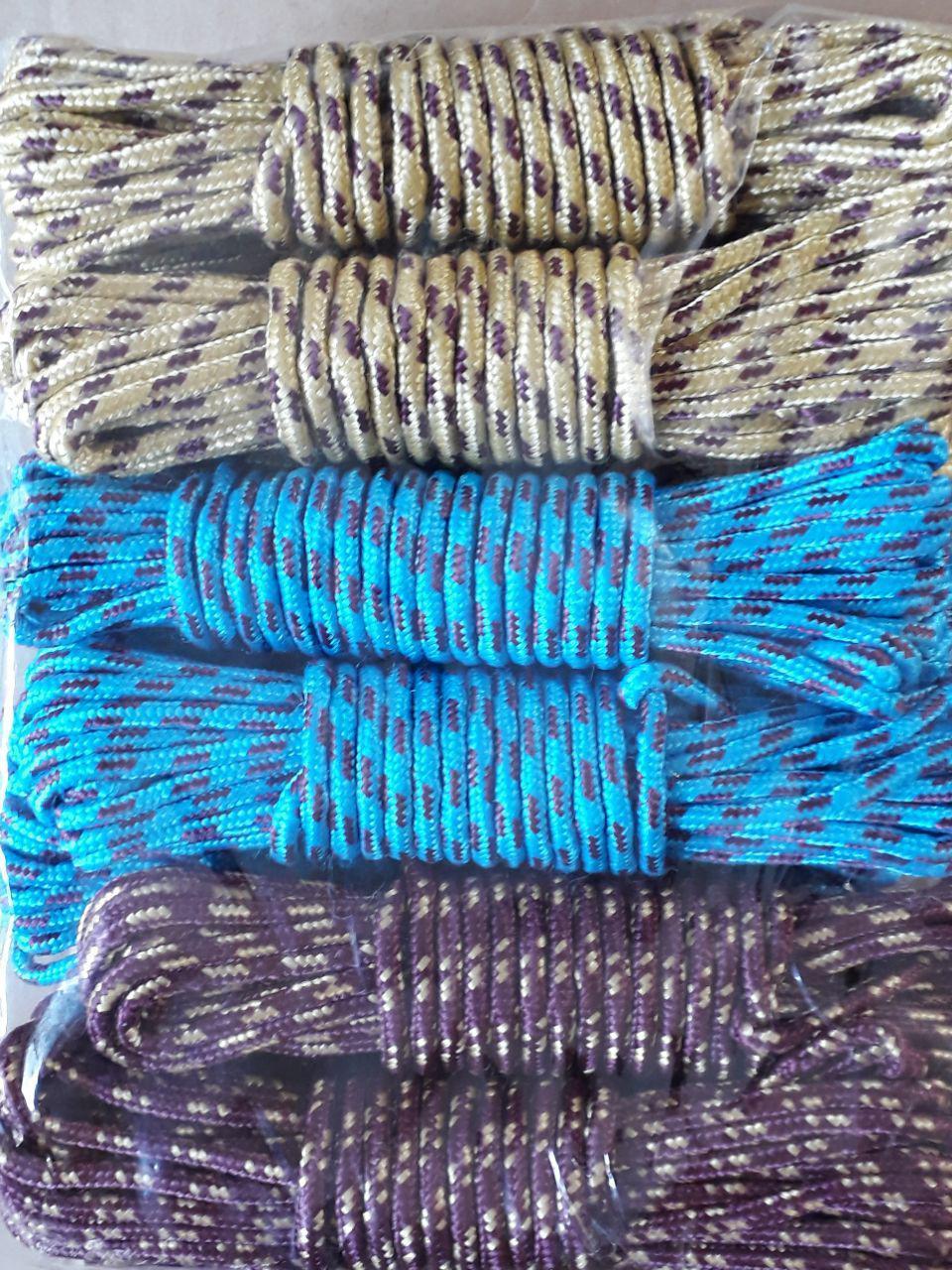 طناب نخی رنگی -- پخش طناب -- طناب کنفی