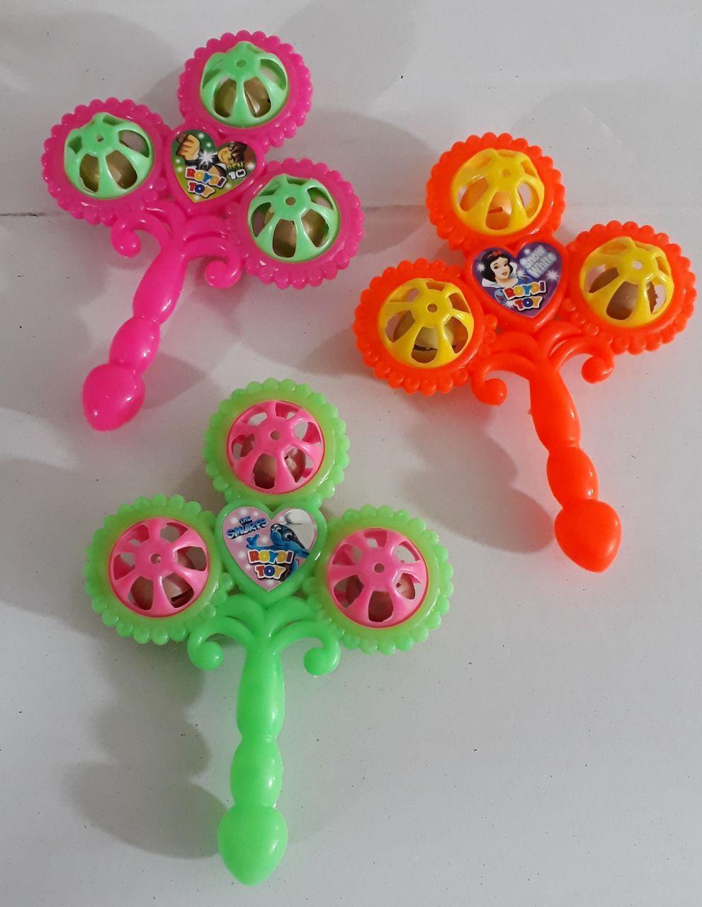 جغجغه سه گل -- پخش -- فانتزی --- جغجغه کودکان