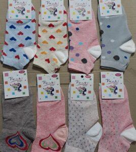 جوراب نیم ساق زنانه - تولید پخش فروش عمده اینترنتی جوراب دخترانه نخی مناسب حراجی 5000 فروش