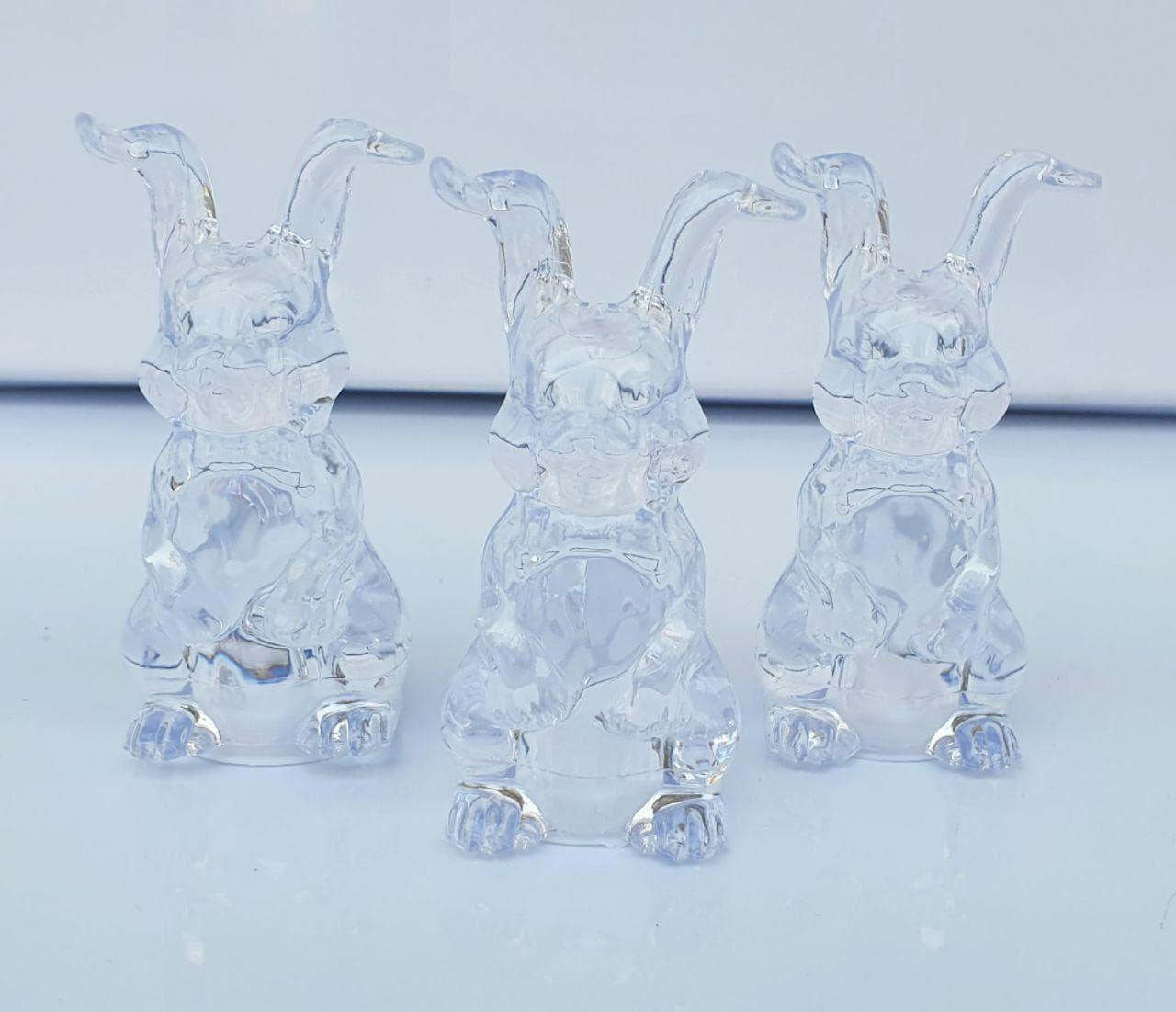 نمکپاش کریستالی خرگوش پخش عمده انواع نمکپاش فانتزی مناسب حراجی 10000 فروش