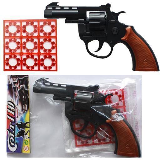 کلت ترقه ای 110 - پخش عمده تفنگ ترقه ای اسباب بازی کارخانه طلایی