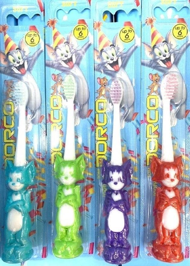 مسواک عروسکی کودک تام  پخش و فروش عمده انواع مسواک فانتزی کریستالی مناسب حراجی 5000 و 10000 فروش