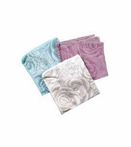 دستمال میکروفایبر گلدار